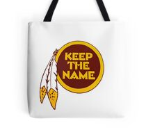 Redskins - Keep The Name Tote Bag