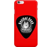 Decibel Geek Guitar Pick! iPhone Case/Skin