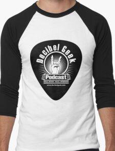 Decibel Geek Guitar Pick! Men's Baseball ¾ T-Shirt