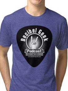 Decibel Geek Guitar Pick! Tri-blend T-Shirt