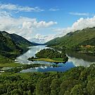 Glenfinnan and Loch Shiel. by John Cameron