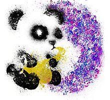 Musical Pandasplosian!!! Photographic Print