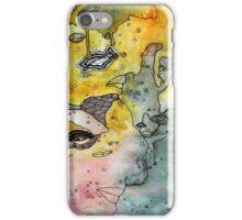 Leaking mixed media art iPhone Case/Skin
