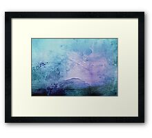 Cotton Candy Mountain  Framed Print