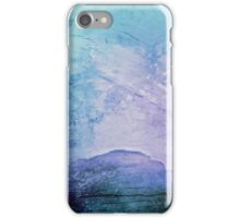 Cotton Candy Mountain  iPhone Case/Skin