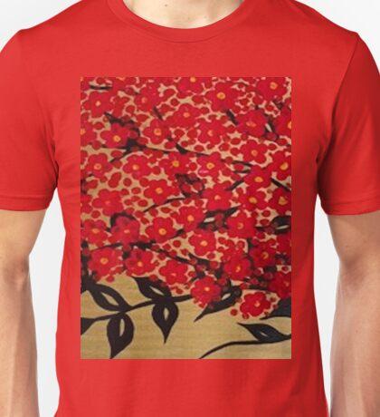 Cherry blossom flowers  Unisex T-Shirt