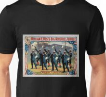 Performing Arts Posters William H Wests Big Minstrel Jubilee 1770 Unisex T-Shirt