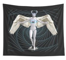 Cyborgs in Us  Wall Tapestry