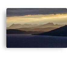 Isle of Skye Sunset Canvas Print