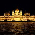 Hungarian Parliament Building by Tom Gomez