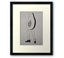 Avocado Woman 1 Framed Print