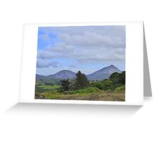 Mount Errigal From A Different Angle Greeting Card