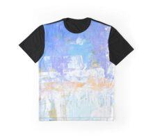 Blue aqua abstract no 45 Graphic T-Shirt