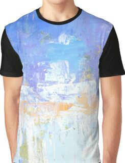 Blue aqua abstract no 45 Graphic T-Shirt