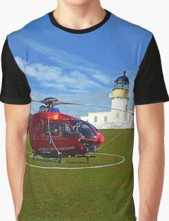 Fair Isle North Lighthouse Graphic T-Shirt