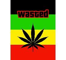 Wasted (Smoke weed) Photographic Print