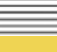 Minimal Chartreuse Stripes by allyjcreative