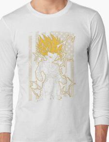 Saiyan T-shirt - vegeta Long Sleeve T-Shirt