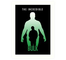 The Incredible Bulk Art Print
