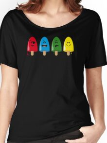 Emotional Range of Popsicles Women's Relaxed Fit T-Shirt