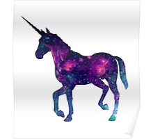 Abstract Unicorn  Poster