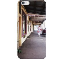 Streetscape Trentham VIC Australia iPhone Case/Skin