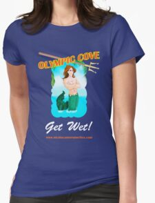 Olympic Cove - Get Wet! Womens Fitted T-Shirt