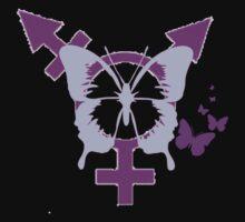 Transgender Pride Butterfly by Rai Ball (Rai's Gently Used Books)