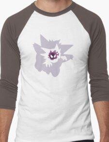 Gastly - Haunter - Gengar Men's Baseball ¾ T-Shirt
