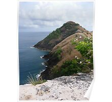 Signal Peak, St. Lucia Poster