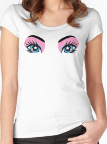 Starry Eyed Women's Fitted Scoop T-Shirt