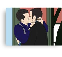 Jack and Ianto  Canvas Print