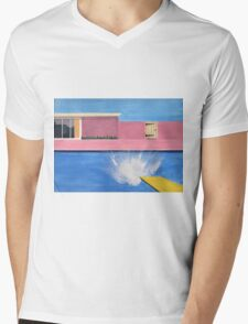 Splash!    Mens V-Neck T-Shirt