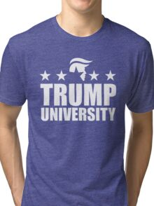 trump university Tri-blend T-Shirt