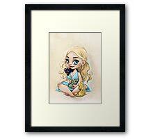 Mother of Kittens Framed Print