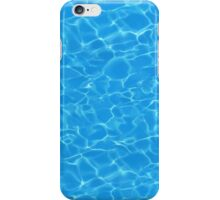 Holiday pool water iPhone Case/Skin