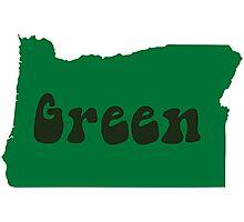 Oregon Green - Hippie Photographic Print