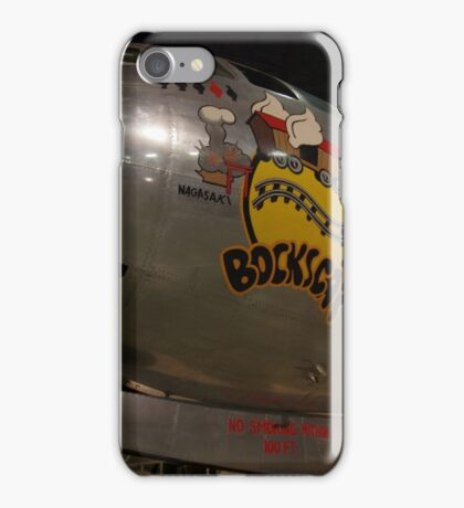 Block's Car the Second Atomic Bomber iPhone Case/Skin