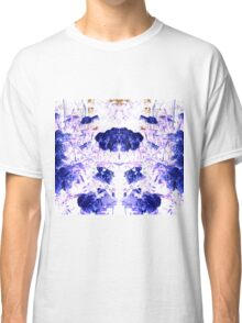 Summer Blooms Mirrored and Inverted Classic T-Shirt