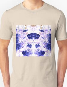 Summer Blooms Mirrored and Inverted Unisex T-Shirt