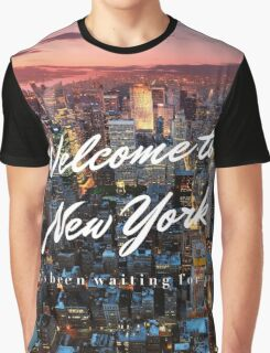 Welcome to New York Graphic T-Shirt