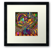The Conductor of Consciousness Framed Print