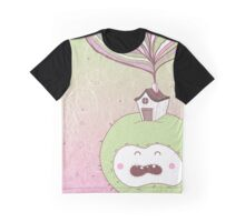 Lady Crabby Apple Graphic T-Shirt