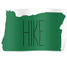 Oregon State Hike - thin Poster