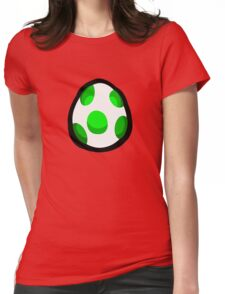 Yoshi Egg Womens Fitted T-Shirt