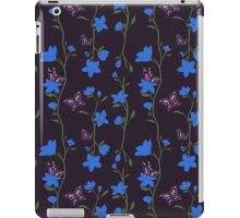 Blue Mist & Butterflies iPad Case/Skin