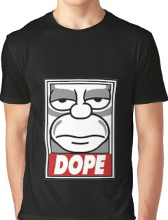 T-shirts Graphiques Homer Simpson Dope Graphic T-Shirt