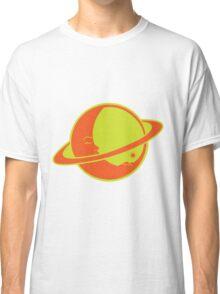 THE MOON SLEEPS ON SATURN Classic T-Shirt