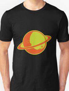 THE MOON SLEEPS ON SATURN Unisex T-Shirt