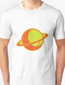 THE MOON SLEEPS ON SATURN Unisex T-Shirt